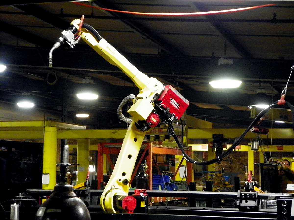 CMS Purchases Robotic Welding Cell